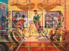 Handlebar Club Prismatism-18x24 Print On Matte Paper