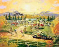Happy Campers-32x40 Print On Fine Art Paper