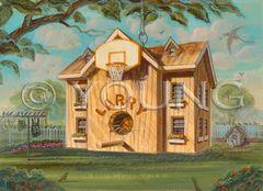 Bird House-14x18 Print On Matte Paper