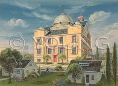 Big House-14x18 Print On Matte Paper
