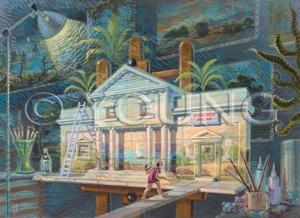 Art House-14x18 Print On Matte Paper