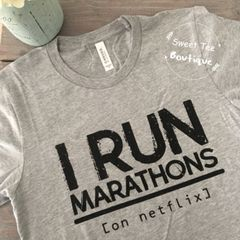 I Run Marathons (on netflix)