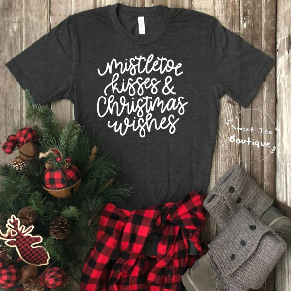 Mistletoe Kisses Christmas Wishes