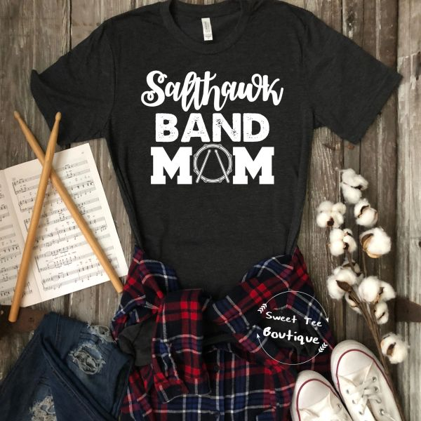 [Choose Your Team/School] Band Mom with Drum