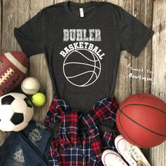 [Choose Your Team] Basketball with Paisley Letters