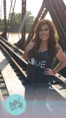 Dark Heather Gray Country Love Tank
