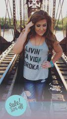 Livin' La Vida Broka Tank