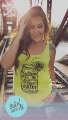 Sweet Tea Tank - Yellow