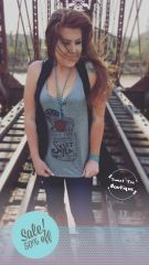 Sweet Tea Tank - Heather Gray