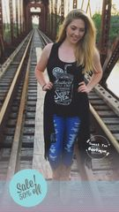 Sweet Tea Tank - Black