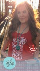Sweet Tea Tank - Red
