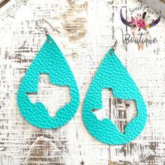 Turquoise Texas Teardrop
