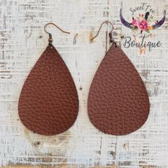 Brown Teardrop