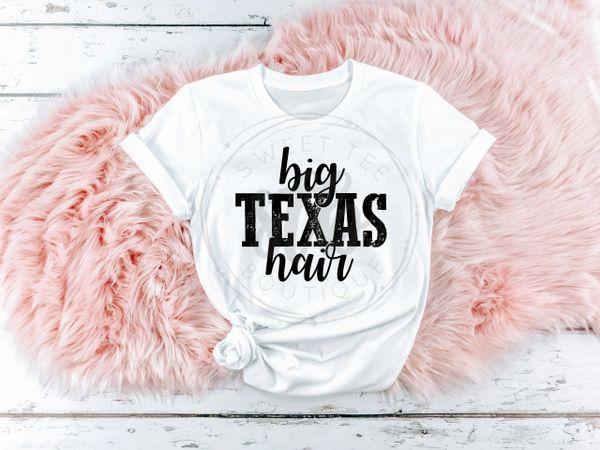 Big Texas hair
