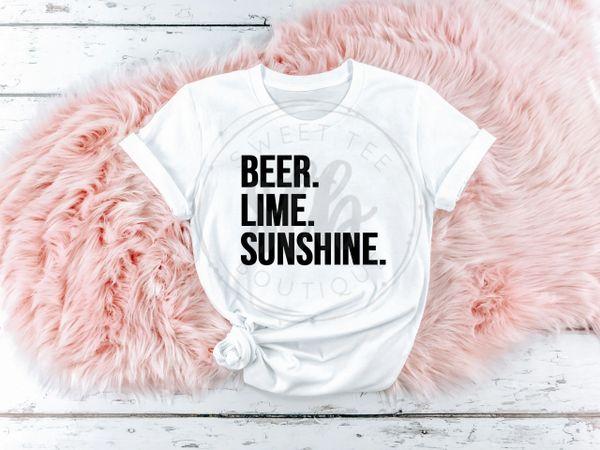 Beer Lime Sunshine