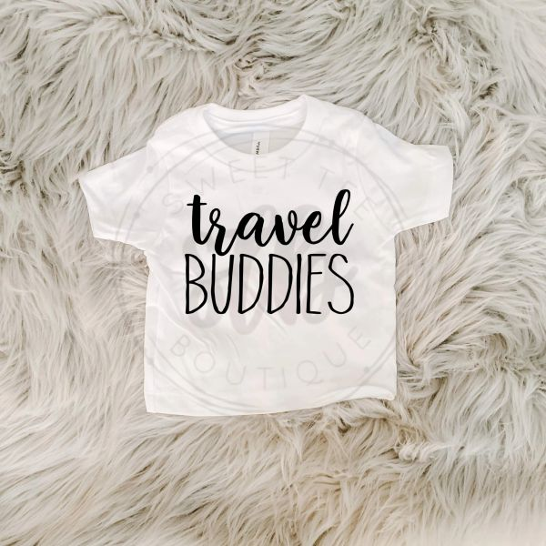 Travel Buddies Baby Tee