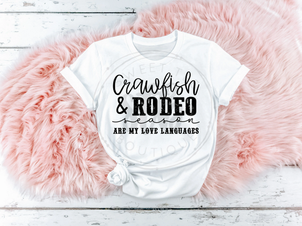 Crawfish and Rodeo Season Are My Love Languages