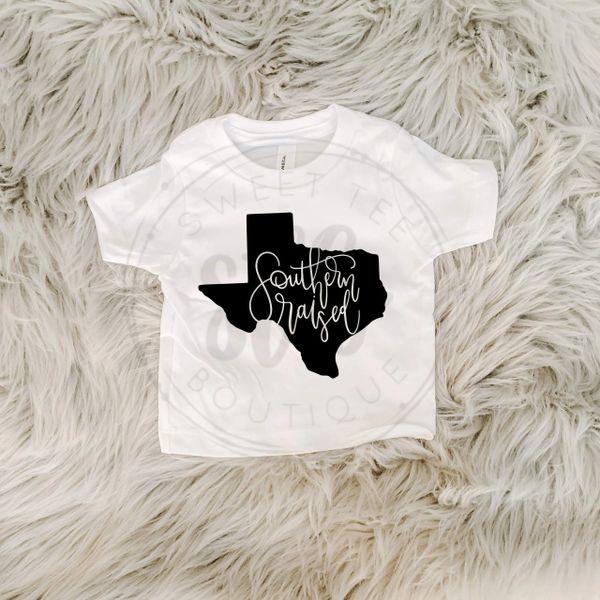 Southern Raised Baby Tee