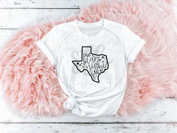 Texas Stars at Night are Big & Bright