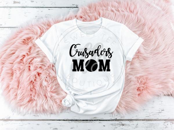 Choose Your Team Name Baseball Mom