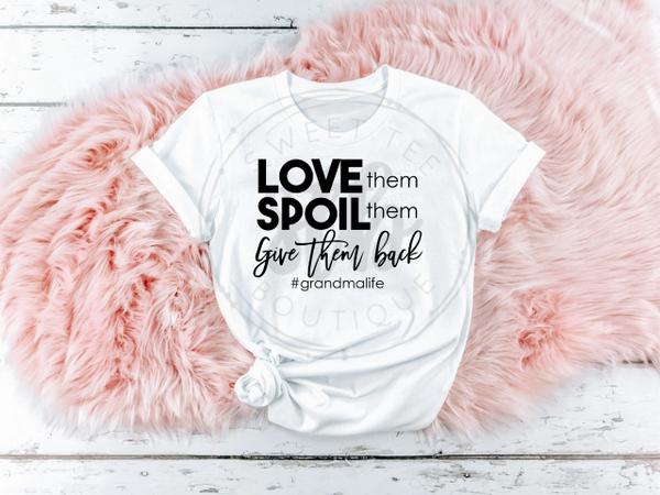 Love Them Spoil Them Give Them Back [#GrandmaLife]