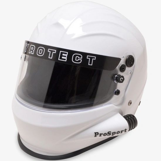 Pyrotect Pro Sport Helmet - Full Face Duckbill Side Air SA2015