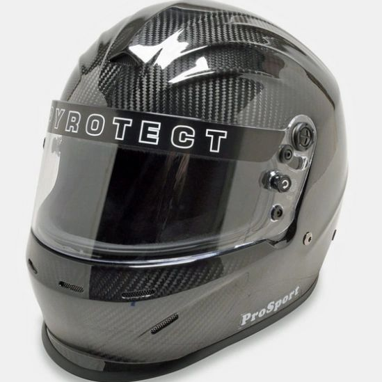 Pyrotect Pro Sport Helmet - Full Face Duckbill Carbon SA2015