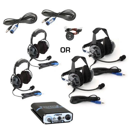 RRP660 PLUS 2-Place Intercom with BTU/OTU Headsets