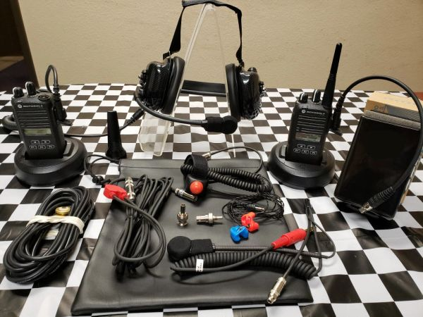 CP185 RACE KIT - Crew and Driver Set Up W/FLEX Mic Headset