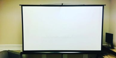 Moving Screening Room - Dothan, Alabama Projector Screen