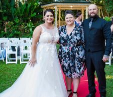 Blessings By Kate Bellman Celebrant Marriage Wedding Ceremony Cairns Bride Groom Mr Mrs