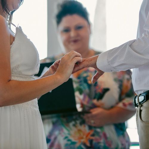 Port Douglas Celebrant Blessings By Kate Bellman Wedding Marriage Ceremony Bride Groom Cairns