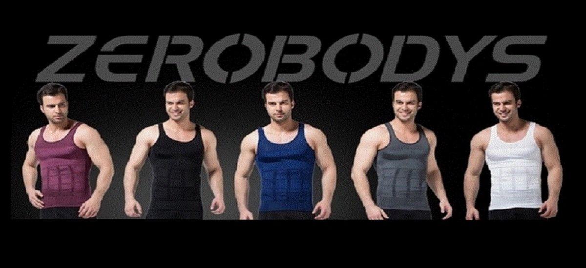 Body Shaper Vest Ultimate Slimming Effect!! Powernet Zipper Body Shaper Vest