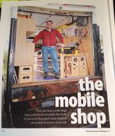 Paulk Mobile shop in a Ford F550 box truck. Dream garages and shops magazine