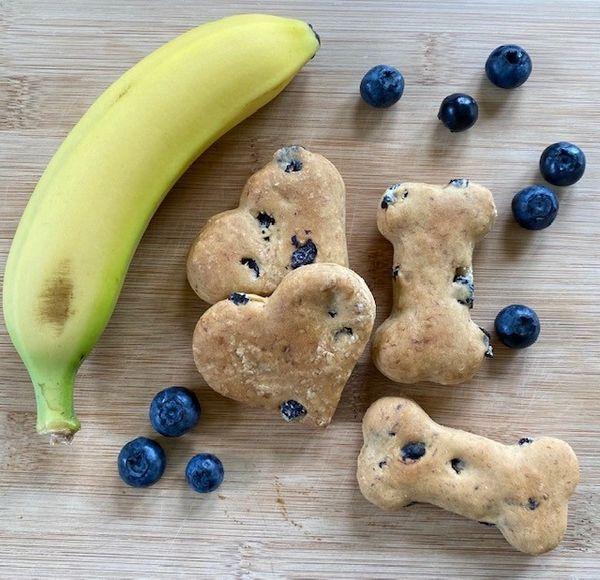 Blueberry Banana Bark