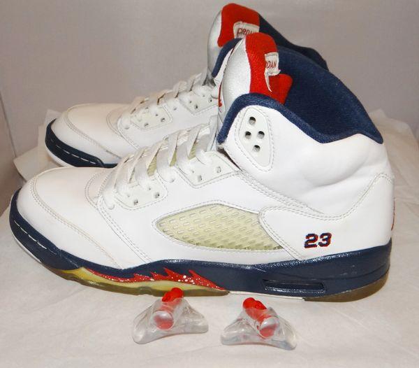Air Jordan 5 Independendence Day Size 4.5 440888 103 #1201