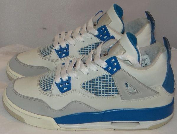 Air Jordan 4 Military Blue Size 5.5 308498 141#3432