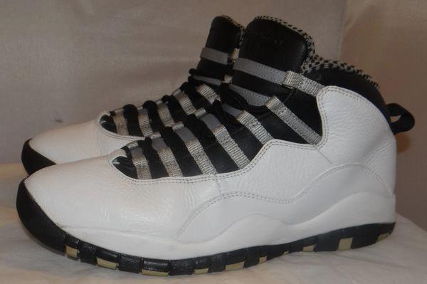 Air Jordan 10 Steel Size 9.5 310805 103 #3666