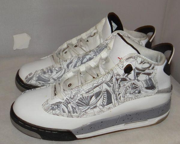 Air Jordan Dub Zero Size 5.5 311047 161 #3797