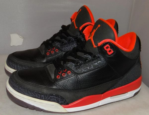 Air Jordan 3 Crimson Size 8 136064 005 #3825