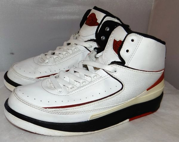 2004 Air Jordan 2 Chicago Size 5.5 #3962