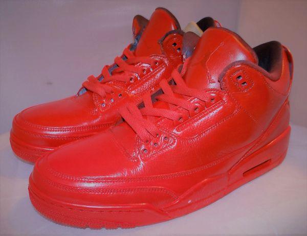 New Custom Air Jordan 3 Size 11 136064 020 #3969