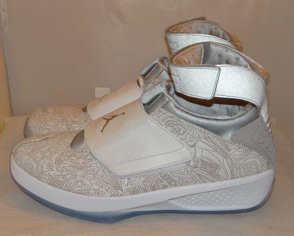 New Air Jordan 20 Laser Size 13 743991 100 #4245