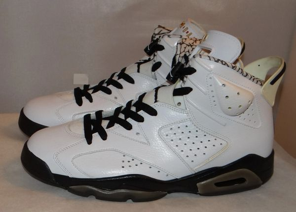 New Air Jordan 6 Motorsport Size 10 395866 101 #4282