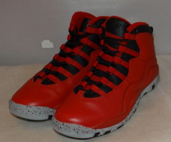 watch 7a4fd 3648f Air Jordan 10 Bulls Over Broadway Size 5 705179 401 #4482