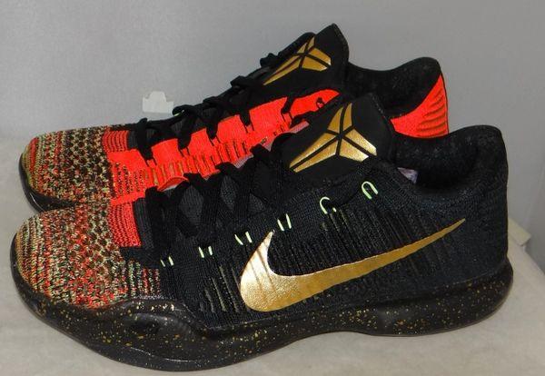 Kobe X XMAS Size 11 802560 076 #4544