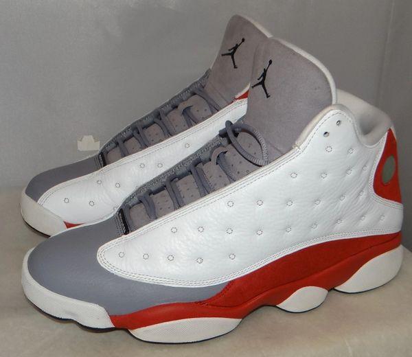 Air Jordan 13 Grey Toe Size 12 414571 126 #4633