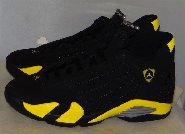New Air Jordan 14 Thunder Size 10 #3683 487471 070
