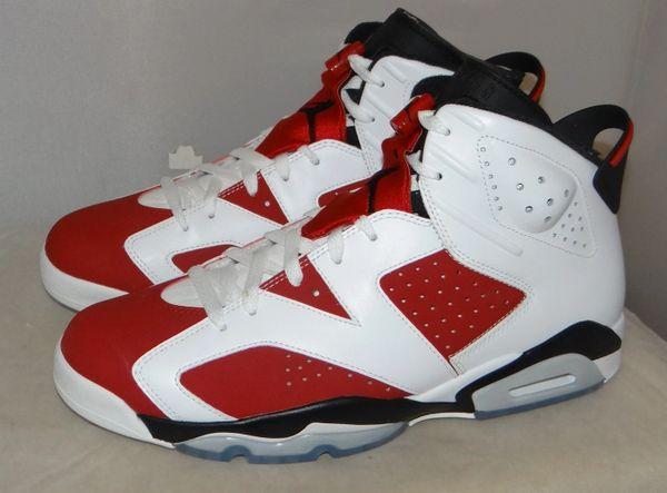 online store e2a0e 25298 New Air Jordan 6 Carmine Size 11.5 #4712 384664 160
