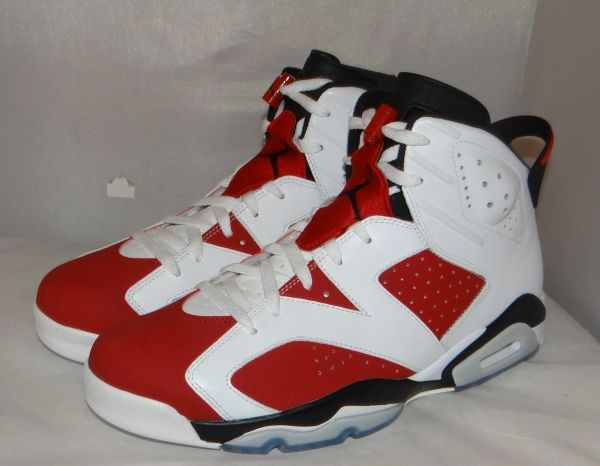 NEW AIR JORDAN 6 CARMINE SIZE 13 384664 160 #4734